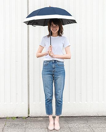 2段折りたたみ傘